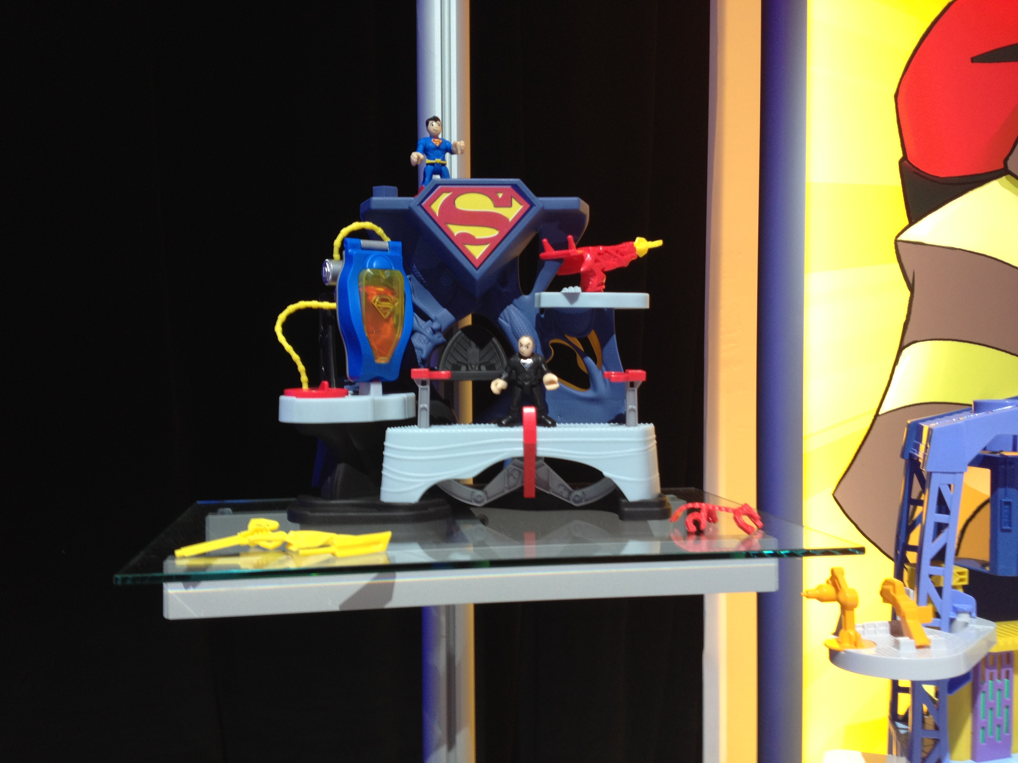 Imaginext will be adding several Superman play sets tied to the Man of Steel release this Summer.