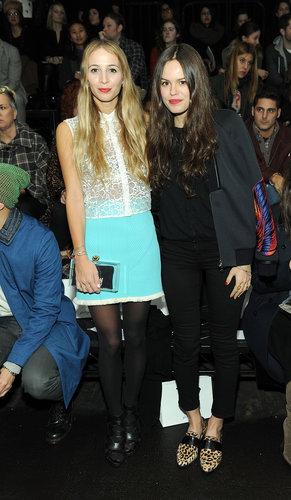 Harley Viera-Newton and Amanda de Cadenet