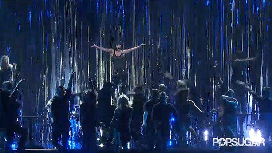 Catherine Zeta-Jones Oscar Performance GIF
