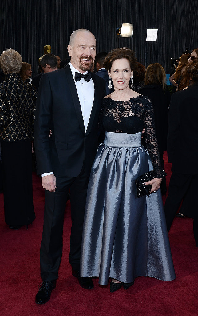 Bryan Cranston stepped out at the Oscars with Robin Dearden.
