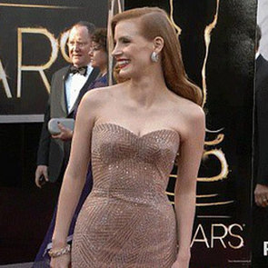 Jessica Chastain Oscars GIF