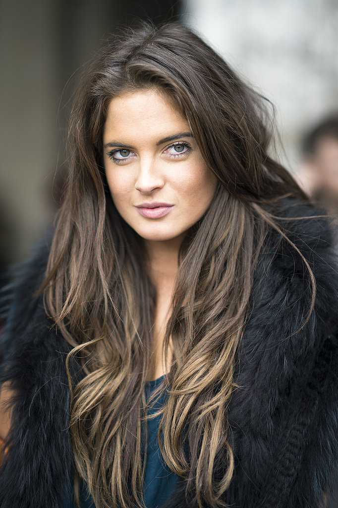 It was about an all-natural look for fresh-faced beauty Binky Felstead. Source: Le 21ème   Adam Katz Sinding