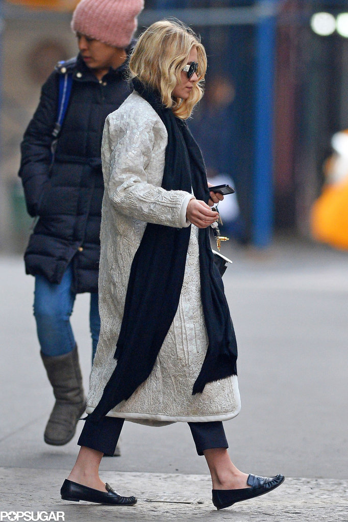 Ashley Olsen Focuses on Fashion Following The Row's Latest Show