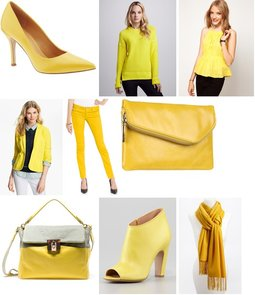 Yellow pieces