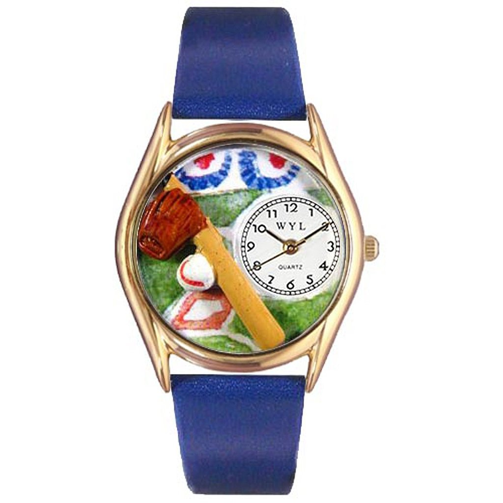 Whimsical Watches Classic Baseball Watch