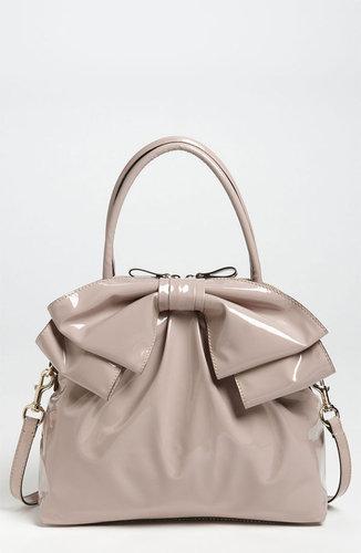 Valentino 'Lacca Bow' Dome Handbag