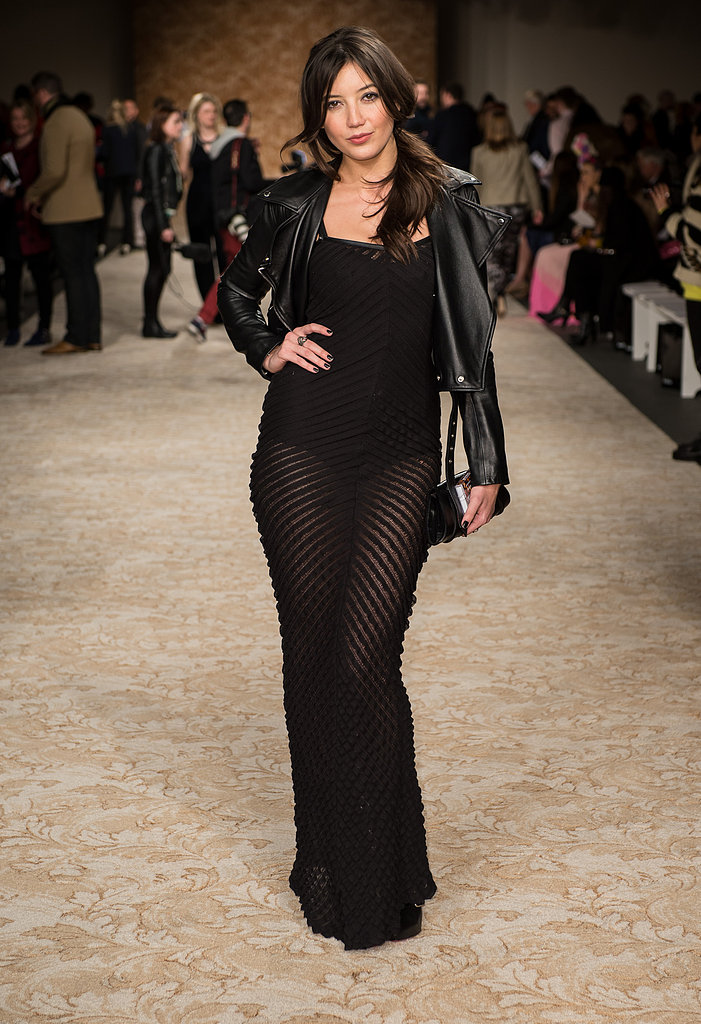 Daisy Lowe at House of Holland