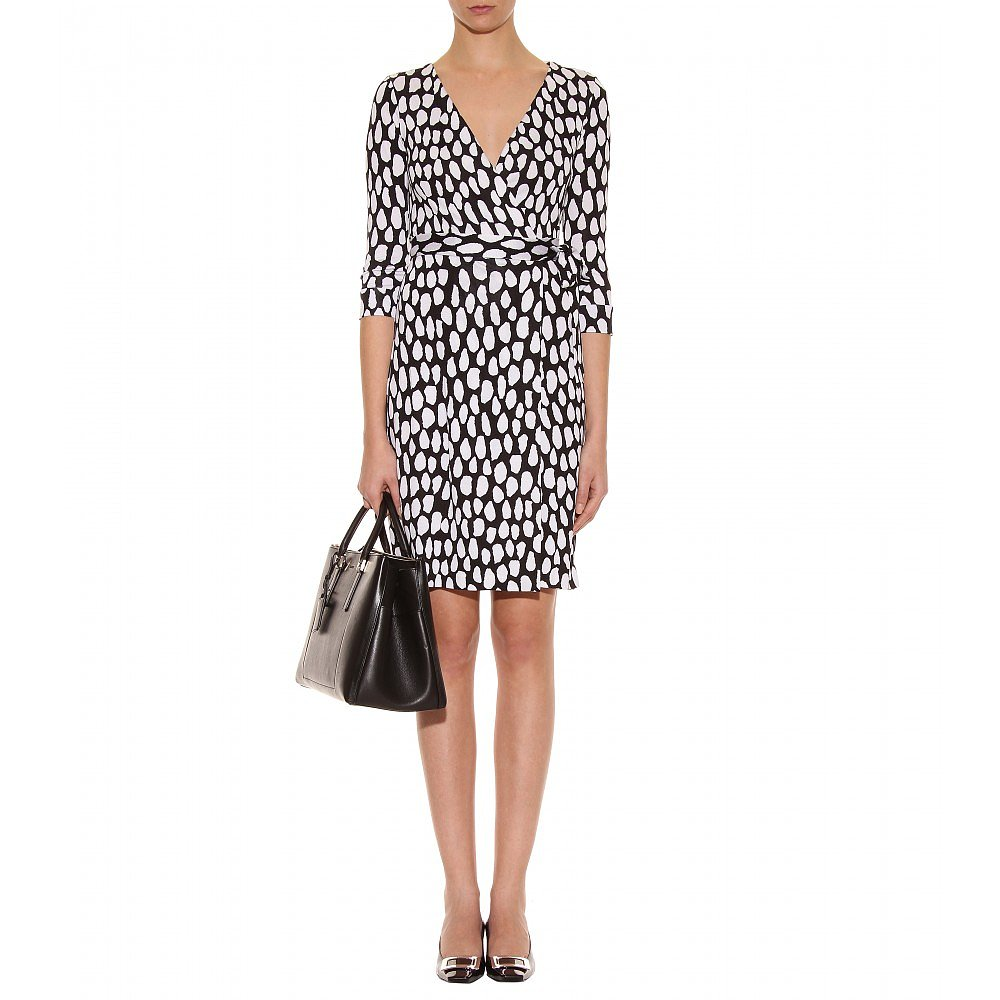 Leave it to Diane von Furstenberg to design the ultimate print wrap dress. Her  New Julian Two Wrap Dress (