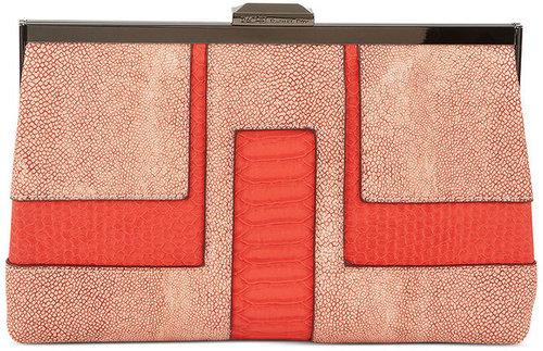 RACHEL Rachel Roy Handbag, Deco Frame Clutch
