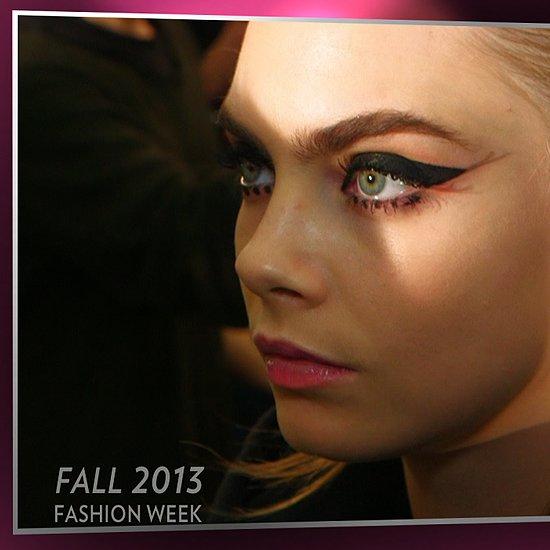 Anna Sui Hair and Makeup | New York Fashion Week Fall 2013