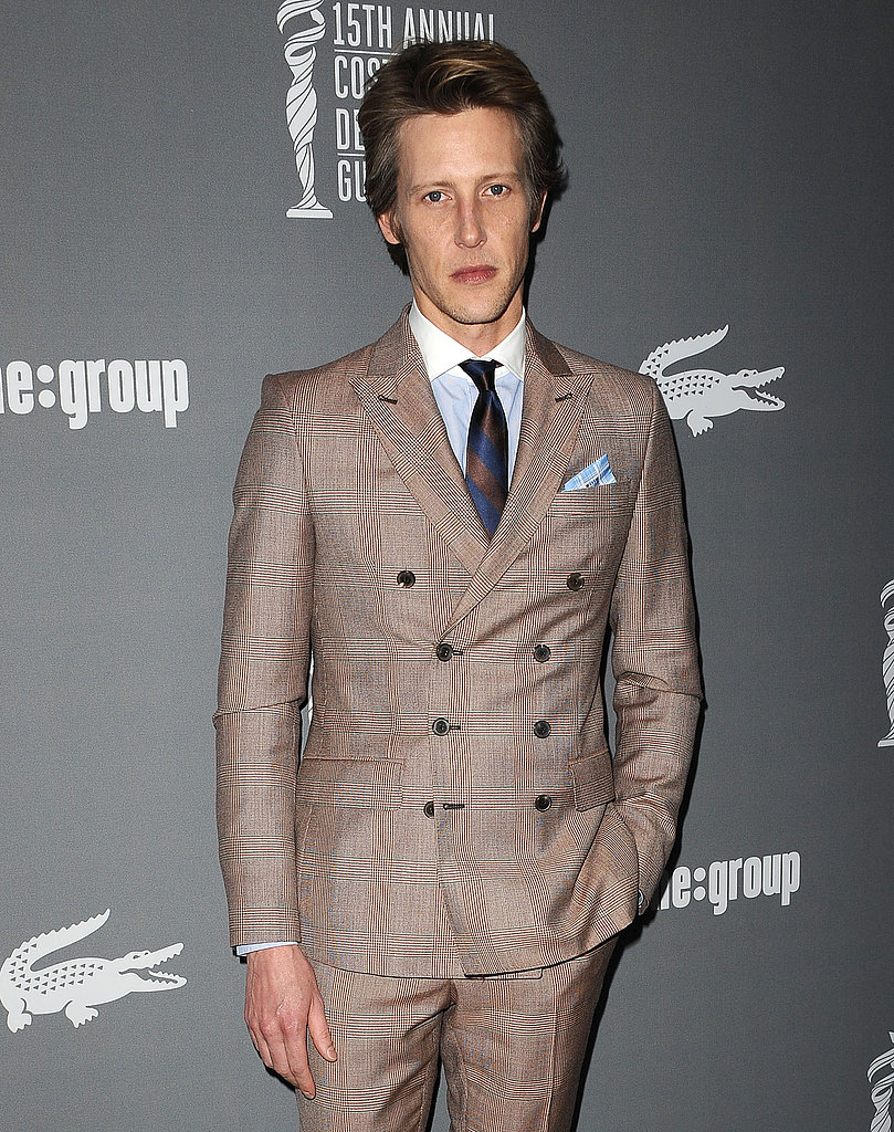 Gabriel Mann wore a dapper suit.