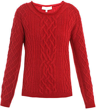 Vanessa Bruno Athe Cable-knit sweater