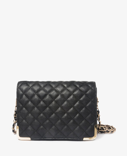 FOREVER 21 Quilted Chain Strap Shoulder Bag