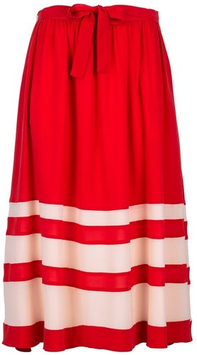 Sonia Rykiel bow detail skirt