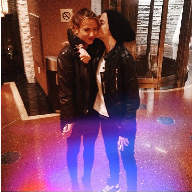 Charlotte Ronson spent time with her twin sister, Samantha, in Las Vegas. Source: Instagram user cjronson