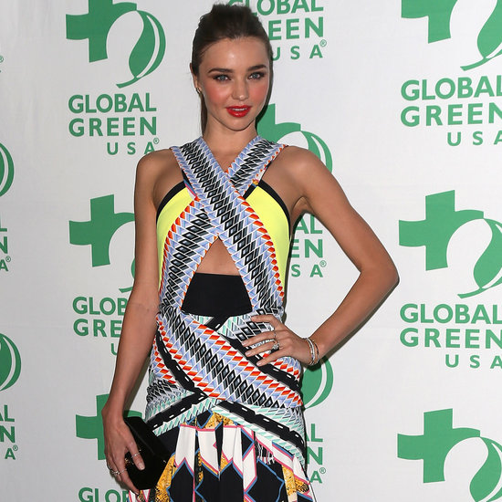 Miranda Kerr Style & Fashion Pictures: Peter Pilotto Dresses