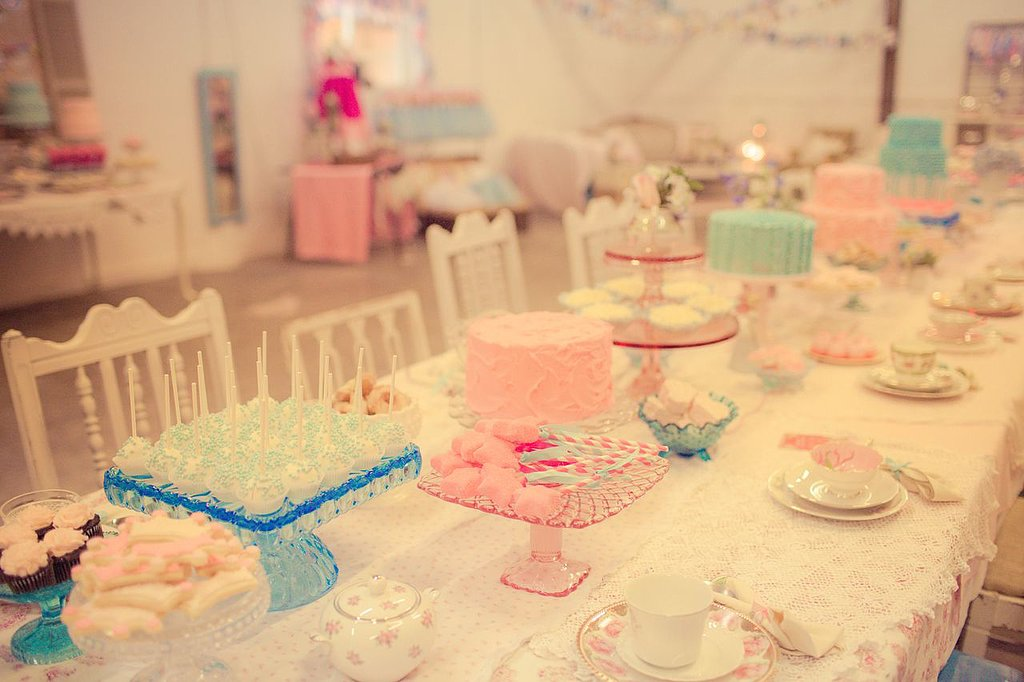The Royal Tea Party Table