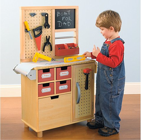 One Step Ahead Workbench Work It 9 Workbenches Designed For Builders Of All Ages Popsugar Moms