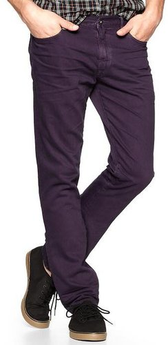 1969 Authentic Skinny Fit Jeans (deep Purple Wash)