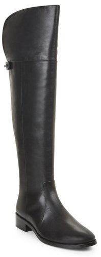 Dedra Over-The-Knee Leather Boot
