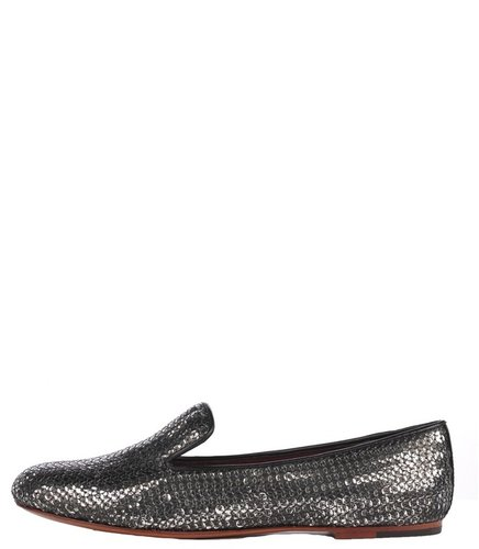 Marc By Marc Jacobs Sequin Smoking Flat