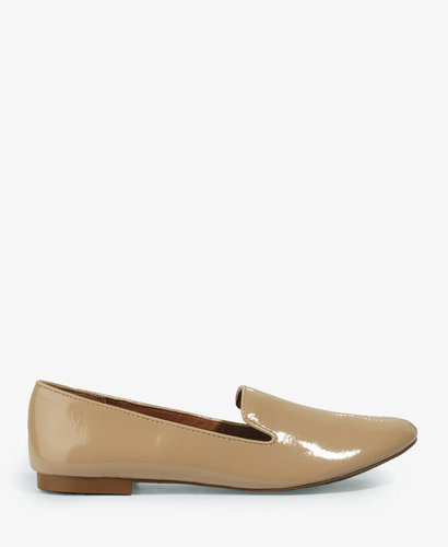 Forever 21 Faux Patent Loafers