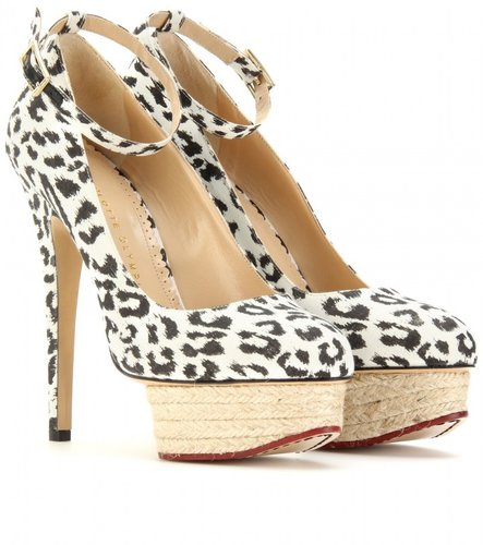Charlotte Olympia DOLORES PLATFORM MARY-JANES