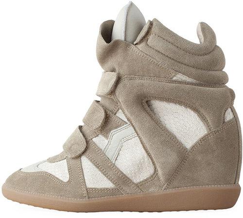 Isabel Marant / Bazil Hi-Top Sneaker