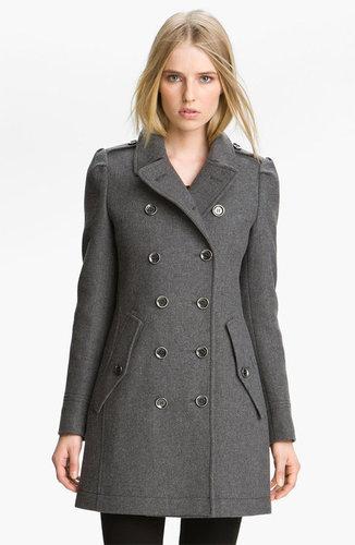 Burberry Brit Wool Blend Coat