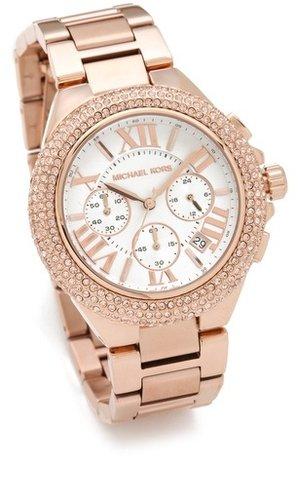 Michael kors Camille Glitz Chronograph Watch