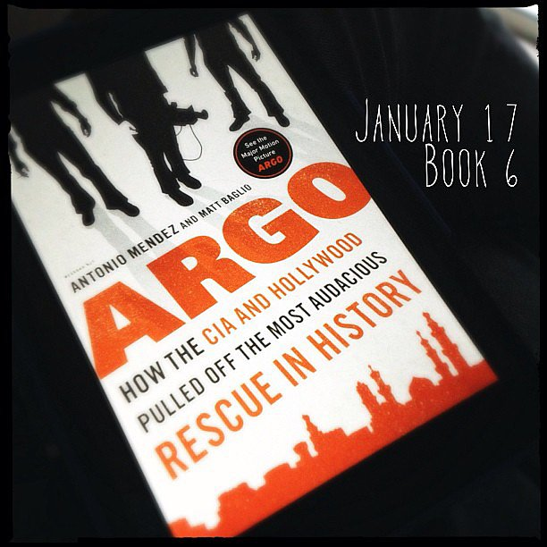 Skotjay dove into the book behind the award-winning movie Argo: How the CIA and Hollywood Pulled Off the Most Audacious Rescue in History by Antonio J. Mendez.