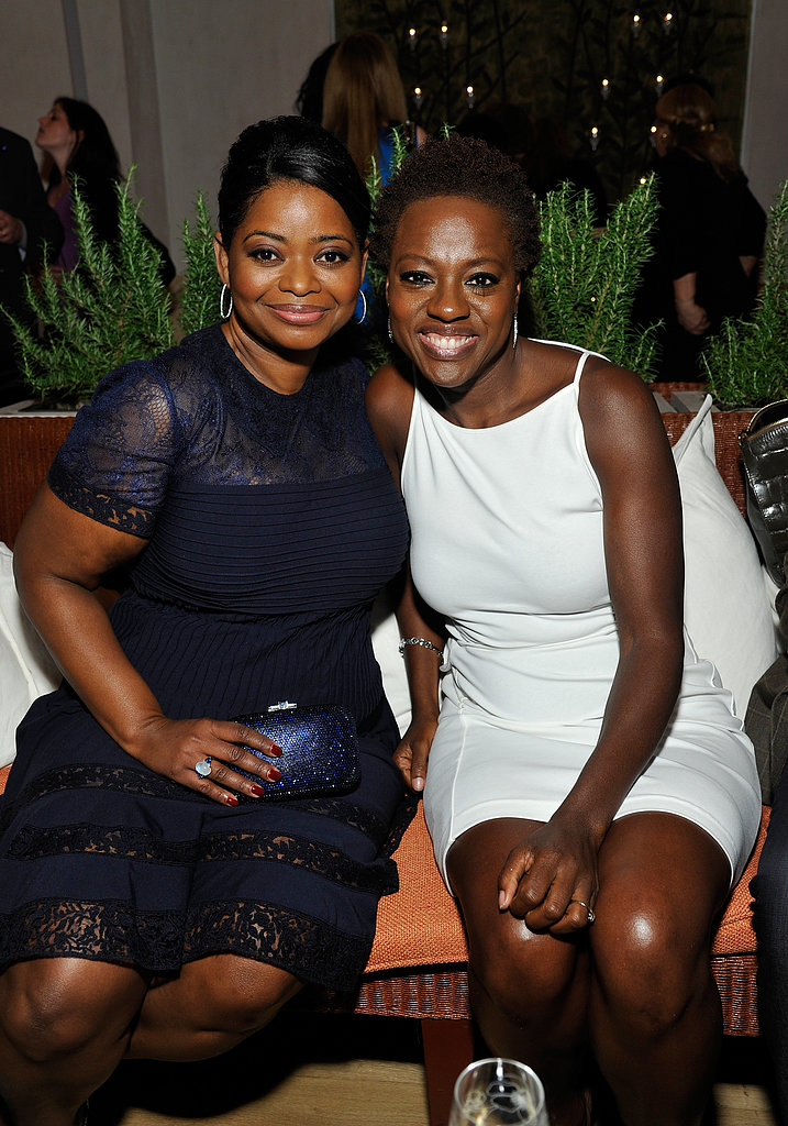 Viola Davis linked up with her The Help costar Octavia Spencer for Hollywood's Women in Film event in LA on Friday night.