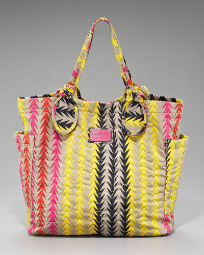 MARC by Marc Jacobs Medium Pretty Nylon Tate Tote, Chevron