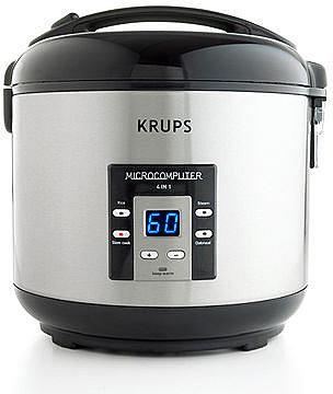Krups RK7011 Rice Cooker, 4-in-1