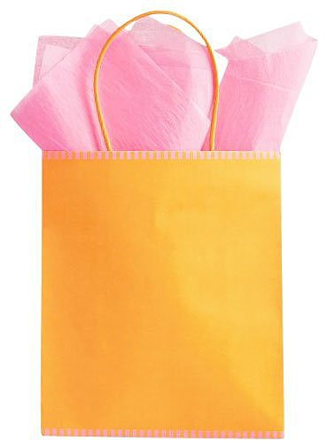 The Gift Wrap Company Sunset Two-Tone Medium Tote Bag