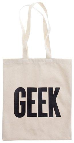 Alphabet bagsTM geek tote