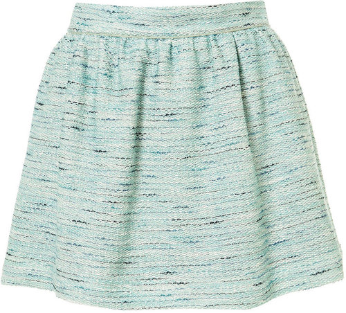 Co-ord Mint Boucle Skirt