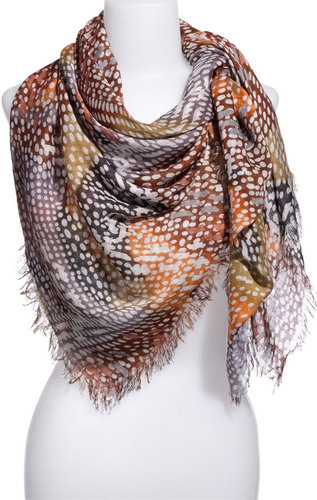 Tarnish 'Digital Dot' Scarf