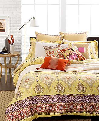 Echo Bedding, Colorful Kilim Comforter and Duvet Cover Sets