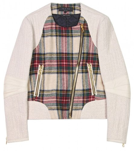 Rag & Bone SACKVILLE PLAID JACKET