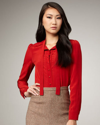 MARC by Marc Jacobs Michaela Silk Blouse