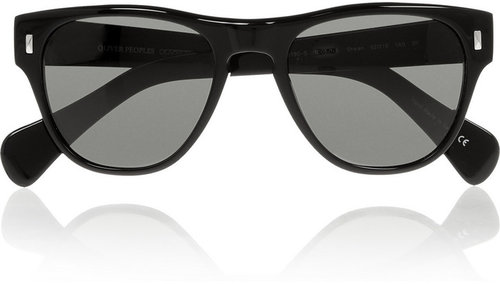 Oliver Peoples Shean round-frame acetate sunglasses