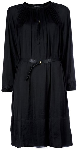 Isabel Marant belted pleat dress