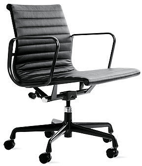 Eames® Aluminum Group Management Chair with Powder-Coated Frame