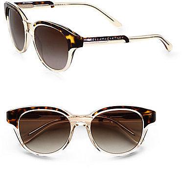 Stella McCartney Retro-Inspired Plastic Sunglasses