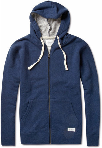 Saturdays Surf NYC Cotton and Wool-Blend Jersey Hoodie