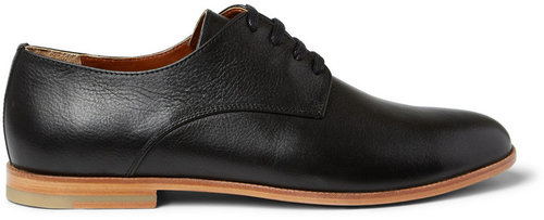 B Store New Mario Leather Derby Shoes