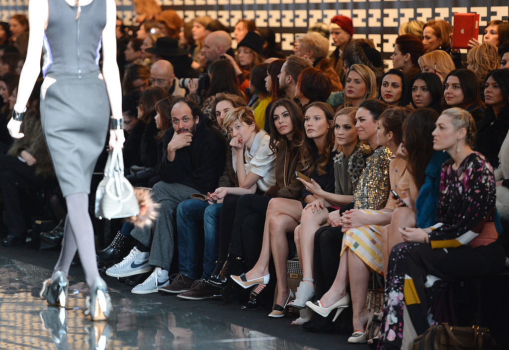 Scope Out Fendi's Fabulously Dressed Front Row