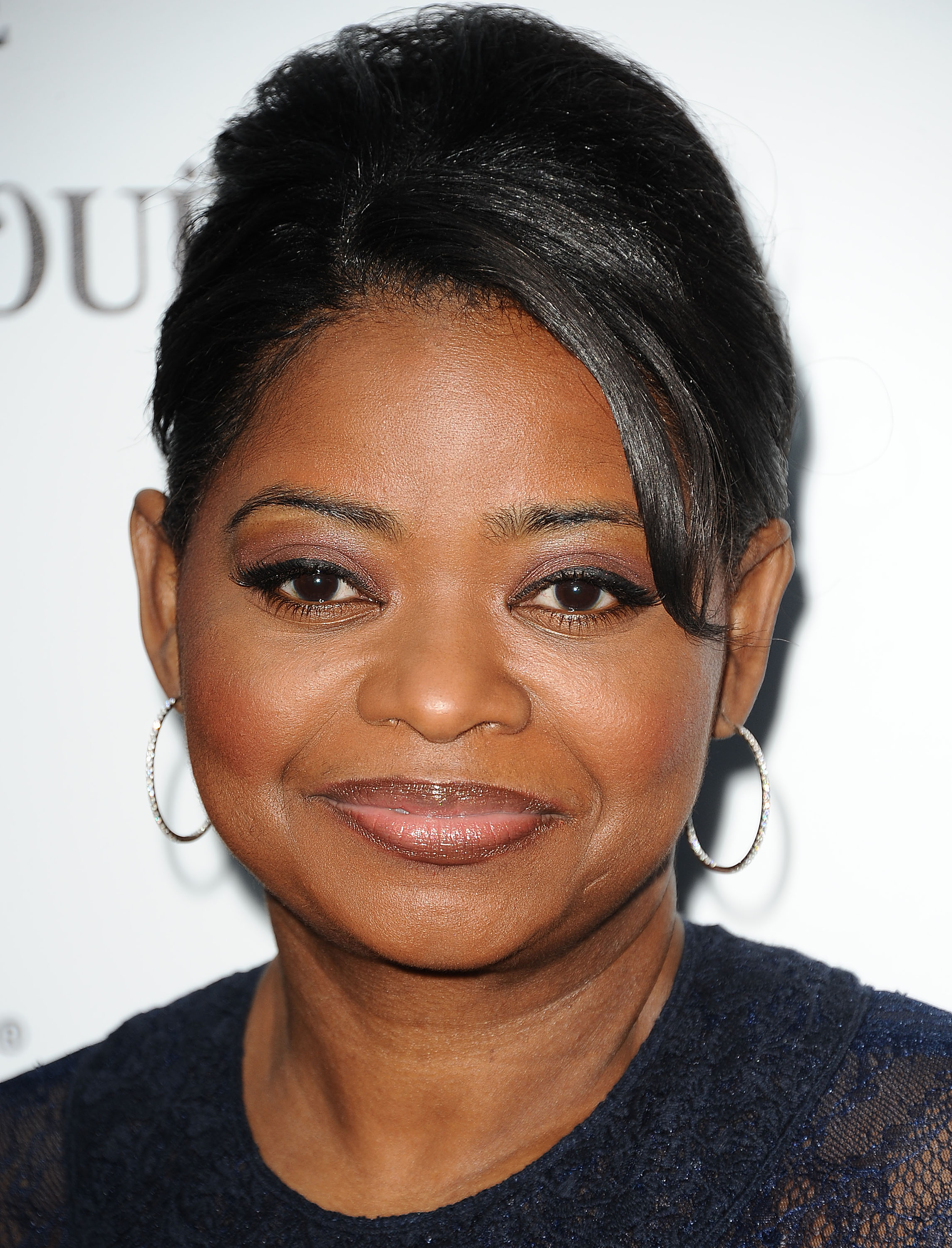 Octavia Spencer chose an elegant updo for the Women in Film Pre-Oscar    Octavia Spencer