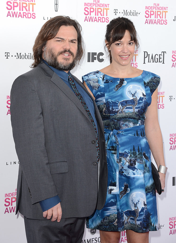 Jack Black and Tanya Haden on  Jack Black Wife 2013